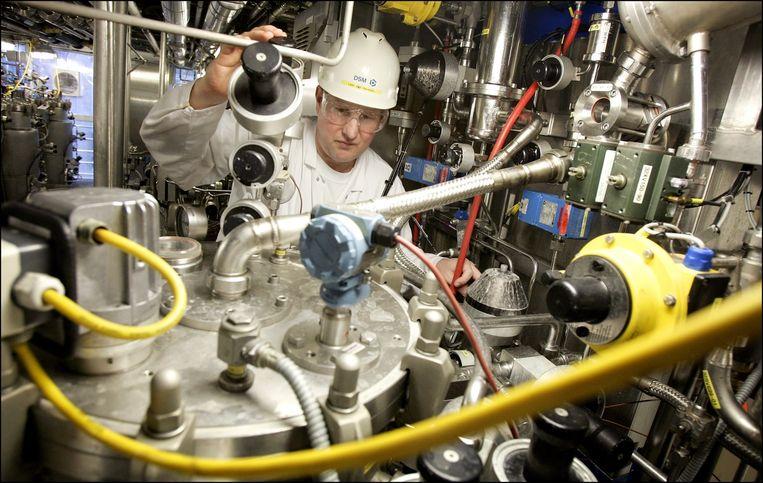 Proeffabriek van DSM voor biotechnologische processen in Delft. Beeld anp