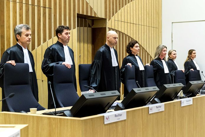 De rechtbank in het MH17-proces.