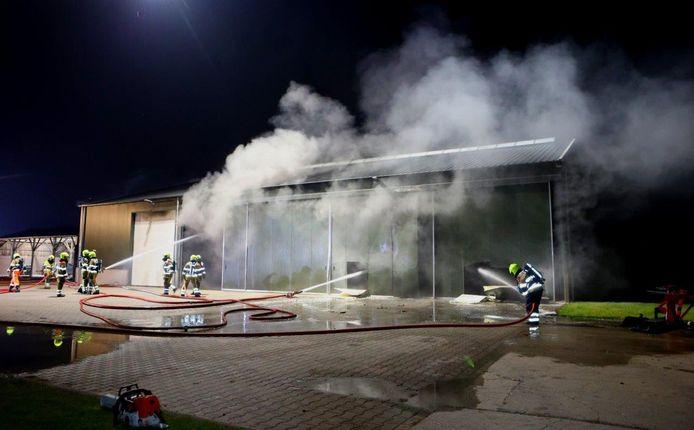 Brand in Velddriel.