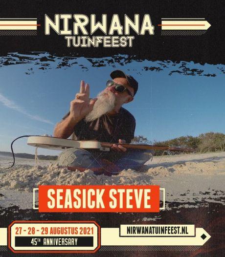 Seasick Steve op Nirwana Tuinfeest, Geen Avondwandelvierdaagse in Deurne, 6349 boeken gelezen bij Scoor een boek