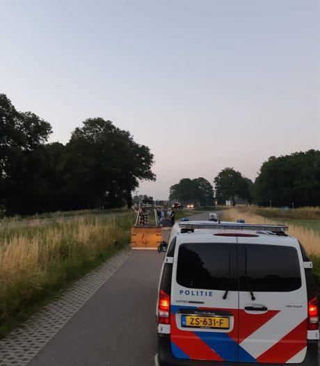 Ballonvaarder maakt noodlanding bij Winterswijk
