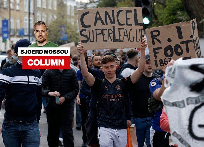 Fans van Chelsea.