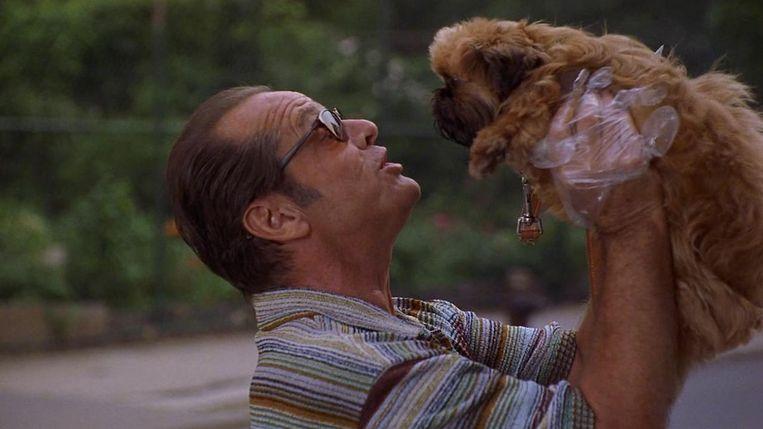 Jack Nicholson in 'As Good As It Gets' van James L. Brooks Beeld