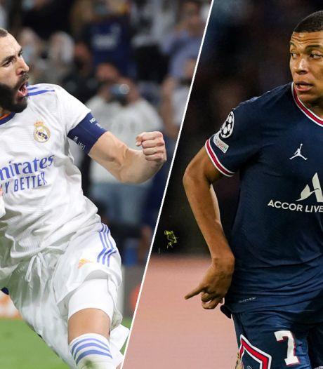 Benzema in L'Équipe: 'Dat Mbappé voor Real zal spelen, is een kwestie van tijd'