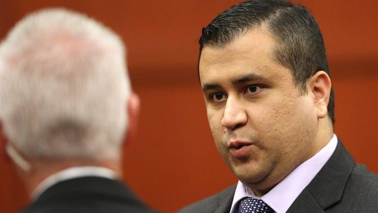 George Zimmerman afgelopen weekend in de rechtbank. Beeld PHOTO_NEWS