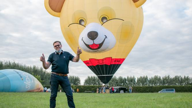 """""""Liever een ballon dan een Porsche!"""": Luc Poppe (61) wordt ballonvaarder na zijn pensioen"""