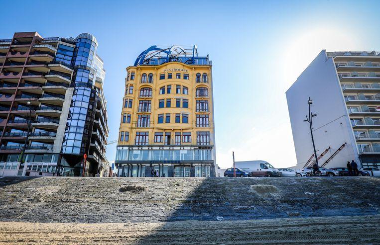 Hotel Petit Rouge, recent verkocht door De Voorzorg, in een verdachte transactie Beeld Benny Proot