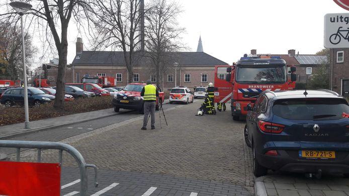 7200 huishoudens zitten zonder stroom na brand in transformatorhuisje in Steenbergen.