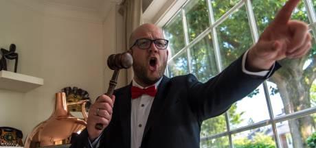 Jeroen Paul (37) veilde 10 meter frikandel voor het goede doel: 'Het draait allemaal om de show'