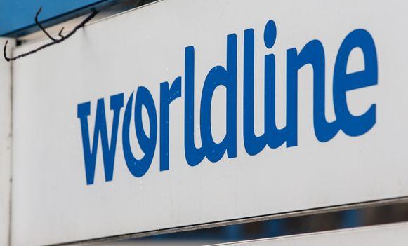 Het logo van Worldline.