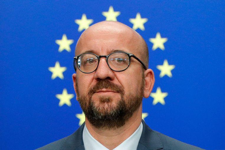 Charles Michel. Beeld AFP