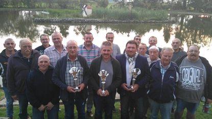 Joël Gielis clubkampioen vissen