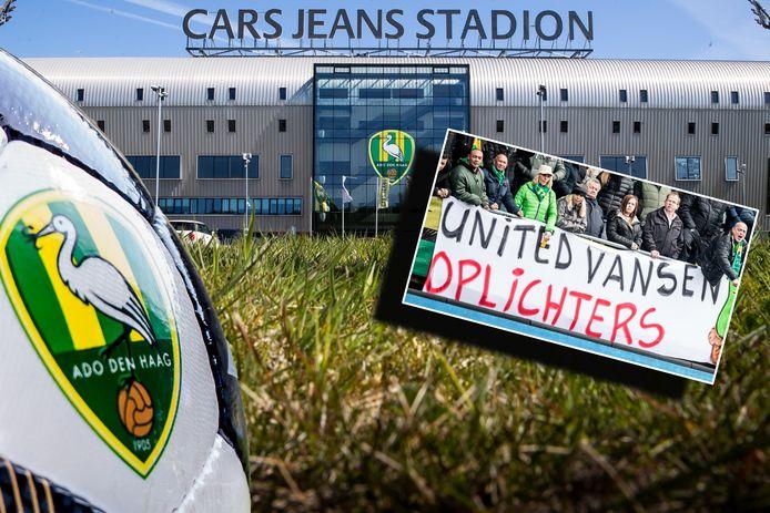 United Vansen, de Chinese eigenaar van ADO Den Haag, heeft de verschuldigde 2 miljoen euro nog niet aan de club betaald.