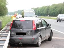 Bestuurder gewond na eenzijdig ongeval op A35 bij Borne