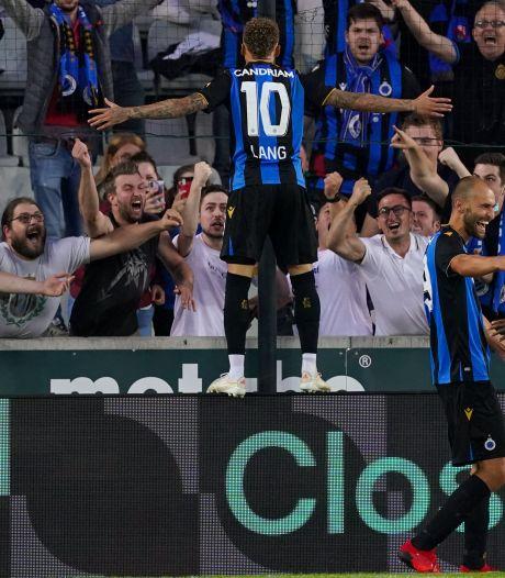 Le Club de Bruges renverse Genk et soulève son premier trophée de la saison