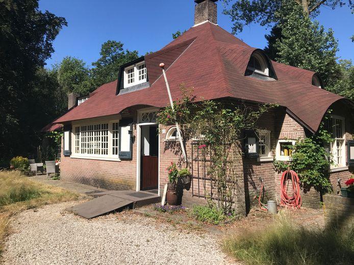 De villa die Georgine Mirandolle liet bouwen op De Hees.