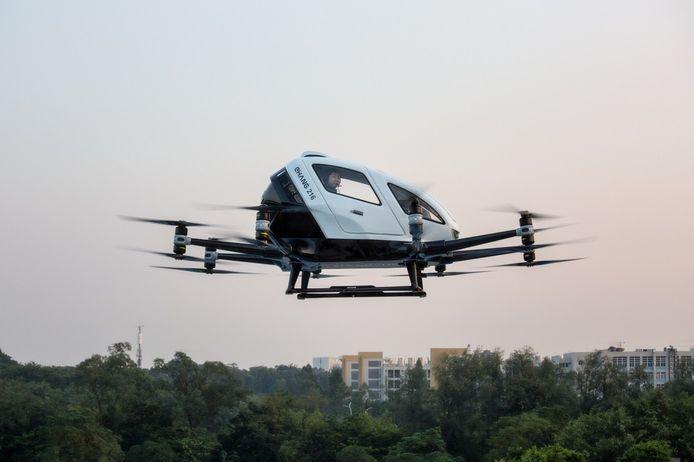 EHang wil een vloot vliegende auto's boven Guangzhou