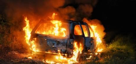 Politie onderzoekt brandstichting bij 2 auto's Willem van Konijnenburglaan Eindhoven