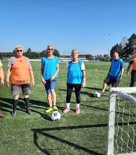 Zwolse dames (55+) zoeken versterking zodat walking football nóg leuker wordt