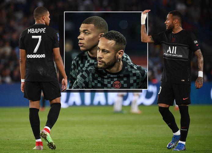 Kylian Mbappé en Neymar.