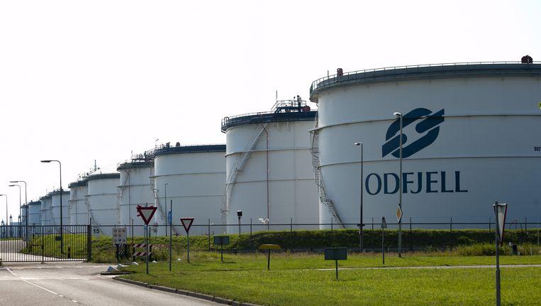 Tankopslagbedrijf Odfjell in Rotterdam Beeld ANP
