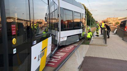 Antwerps tramverkeer hervat na ontsporing op Linkeroever