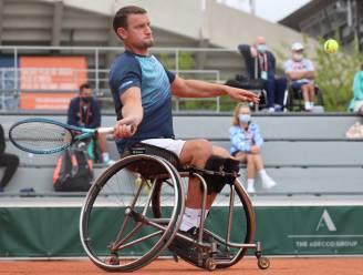 Rolstoeltennisser Joachim Gérard uitgeschakeld in kwartfinale op Roland Garros