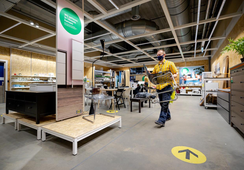 Op Bring Back Friday, tegenhanger van Black Friday, kon je in Nederland je gebruikte Ikeameubel inruilen voor een tegoedpas.