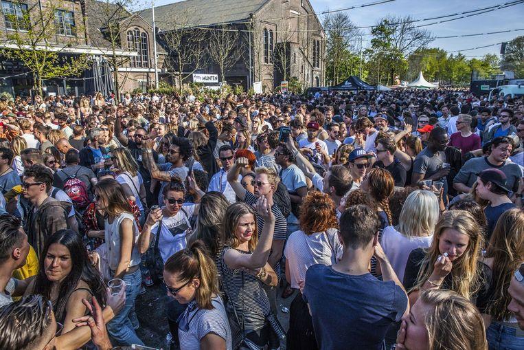 """Bevrijdingsfestival"" or Liberation Festival in Westerpark  Beeld Amaury Miller"