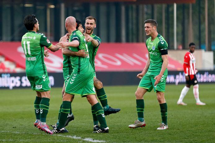 De Graafschap zette afgelopen maandag met de zege op Jong PSV (0-2) een nieuwe stap op weg naar promotie naar de eredivisie.