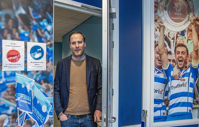Jeroen van Leeuwen, manager algemene zaken van PEC Zwolle,