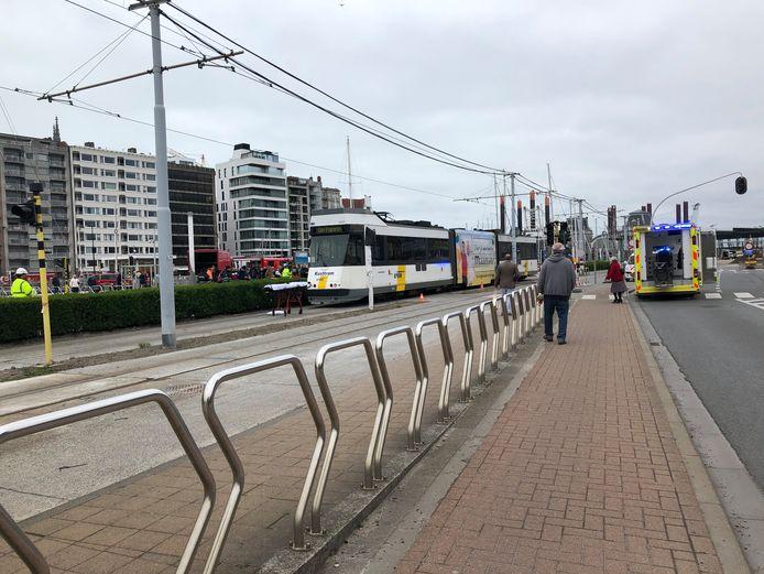 Het ongeval gebeurde aan de Kapellebrug in Oostende.