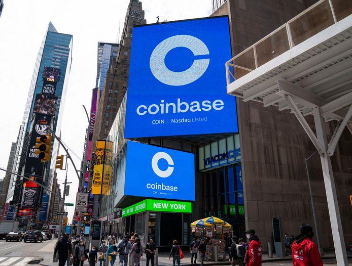 Coinbase kreeg extra aandacht door de beursgang van het bedrijf op technologiebeurs Nasdaq.