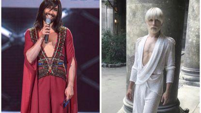 Conchita Wurst haast onherkenbaar met nieuwe look