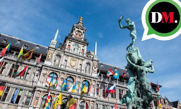 Voeg ons even toe op WhatsApp, en ontvang al het belangrijke stadsnieuws uit Antwerpen in uw broekzak. Beeld rv
