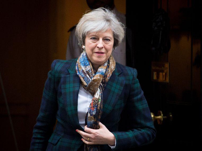 Brits premier Theresa May.