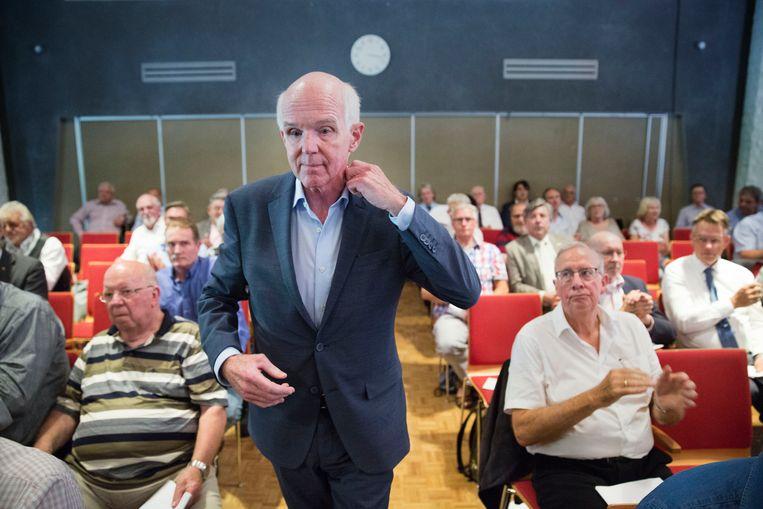 Geert Dales als voorzitter van 50PLUS Beeld Arie Kievit