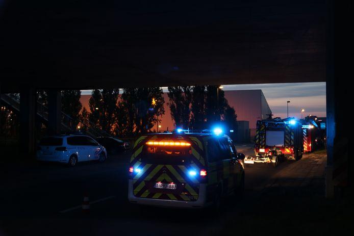 De brandweer zocht gisterenavond in de Dender naar de vermiste persoon.
