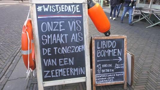 Vishandel Arnhem was vorig jaar de trotse winnaar van de slechtste slogan van 2019.