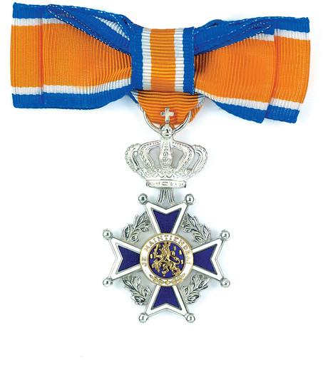 Nel Persoons uit Oisterwijk benoemd tot Lid in de Orde van Oranje-Nassau
