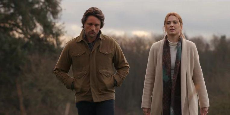 Jack en Melinda in Virgin River. Beeld