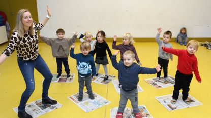 Kleuters krijgen voorproefje van eerste schooldag bij Freinetschool De Vlindertuin