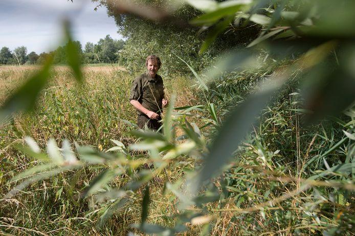 John Sips, beheerder van onder meer hoge zandgronden tussen Breda en Chaam.