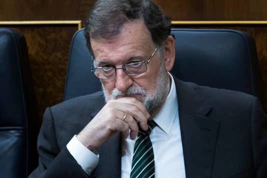 Premier Mariano Rajoy van Spanje.