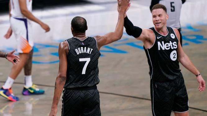 Nets zijn zeker van play-offs, Oklahoma wint voor het eerst in 14 wedstrijden