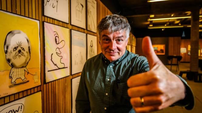 """Kamagurka keert met expo terug naar roots in Nieuwpoort voor zijn 65ste verjaardag: """"Het doet me wat, die geur van verf en vis"""""""