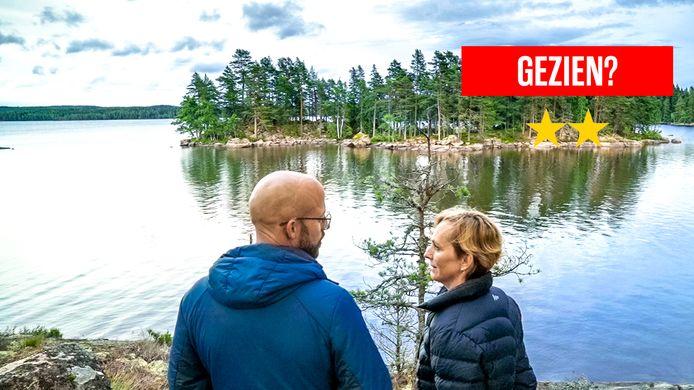 Staf Coppens en z'n echtgenote Monique tijdens hun zoektocht naar de ideale verblijfplaats in Zweden.