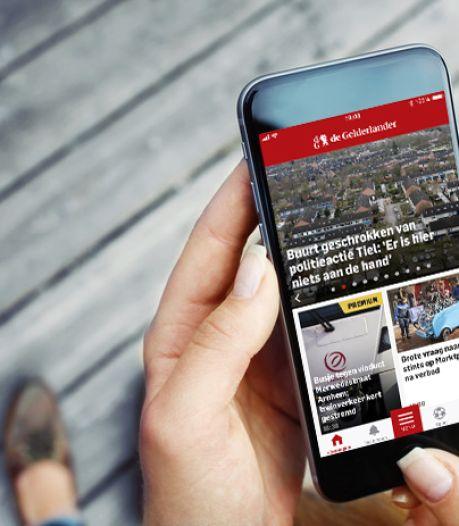 In deze tijd zien lezers het voordeel van de DG app: Snel op de hoogte zijn wat er speelt