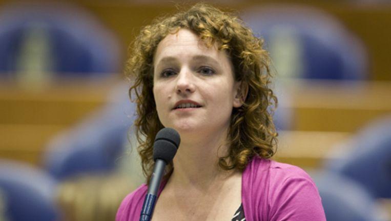 SP-Kamerlid Renske Leijten: 'Zien drinken doet drinken'. Foto ANP Beeld
