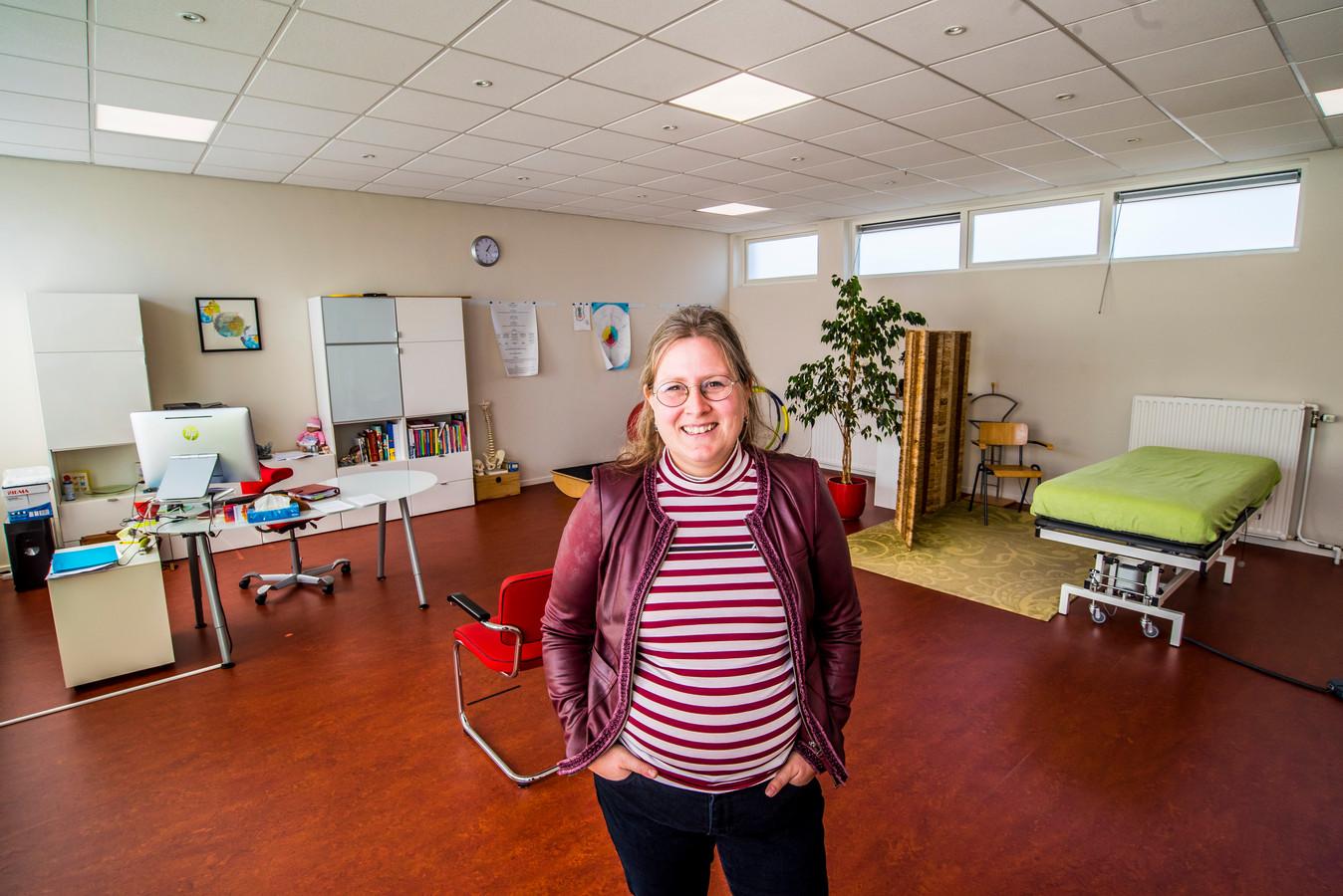 Haptotherapeut Françoise Wibbels-Pancras kocht het schooltje en heeft er nooit spijt van gehad.